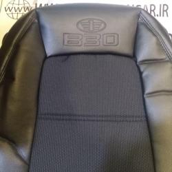 روکش صندلی چرم و پارچه طرح فابریک بسترن B30